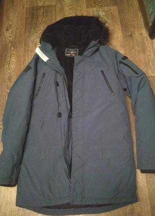 Парка next performance куртка удлиненная зимняя