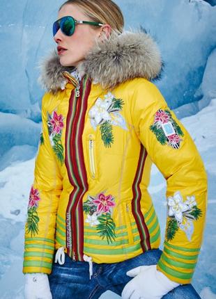 Горнолыжная куртка bogner bora bora оригинал! бренд класс люкс италия