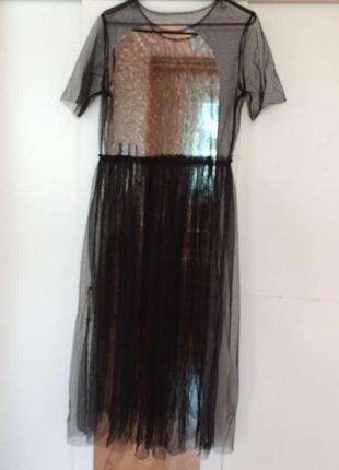 ... Платье футболка сетка прозрачная длинная4. Платье футболка сетка  прозрачная длинная 7b19163c69d
