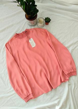 Новая блузка обьемный рукав вискоза дорогой бренд opus