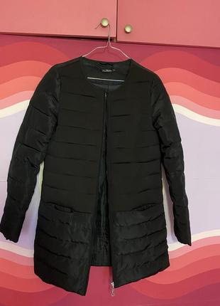 Стеганое пальто куртка пуховик kira plastinina