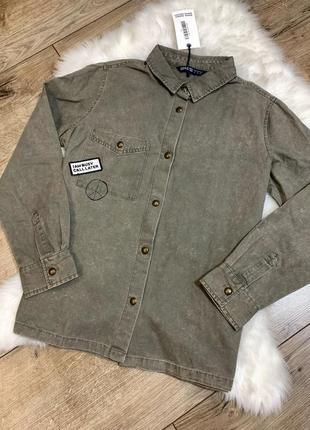 Рубашки джинсовая куртка