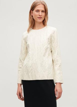 Блузка c жатым эффектом cos