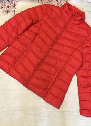 Куртка деми модная большой размер