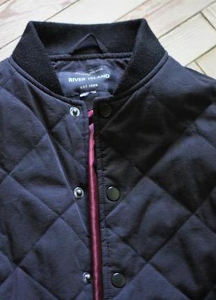 River island крутая легкая тонкая куртка бомбер курточка ветровка xs h&m zara mango