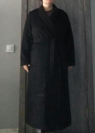 Пальто хала на запах шерстяное шерсть