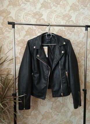 💜стильная куртка косуха sinsay💜