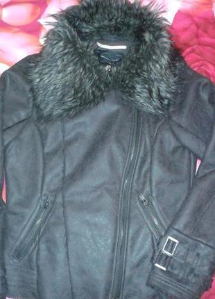 Дубленка-курточка искусственная