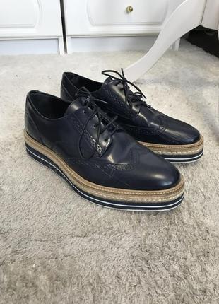 Туфли massimo dutti нюанс