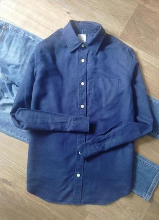 Рубашка с карманом, сорочка, блузка, оверсайз, бойфренд