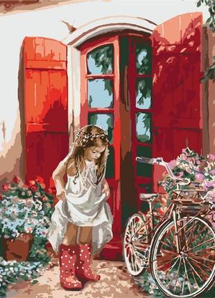 Картины по номерам  маленькая принцесса 2324
