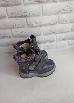 Зимние сапоги ботинки на мальчика