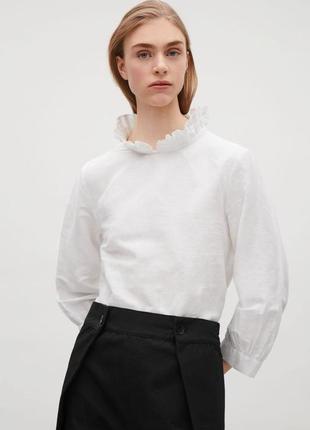 Льняная  блузка cos