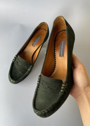 Туфли tommy hilfiger женские , жіночі шкіряні туфлі