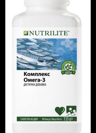 Комплекс омега-3 nutrilite . амвей. amway