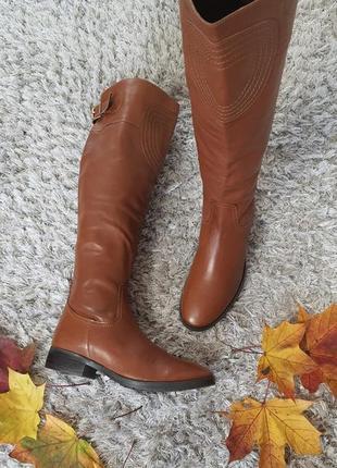 Красиві чоботи madassa від san marina нат.шкіра р.40.
