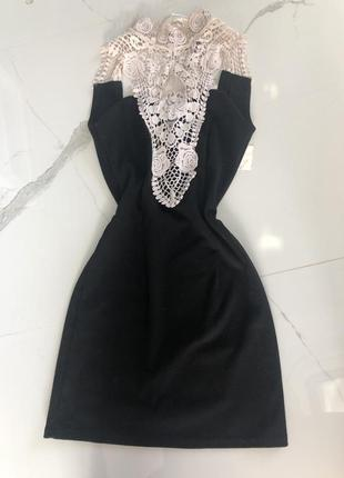 Платье с открытой спиной, коктейльное платье, вечернее