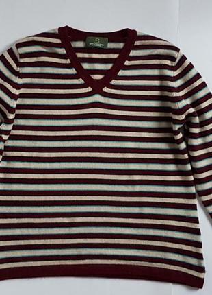 Кофта пуловер bradford(кашемір )розмір l