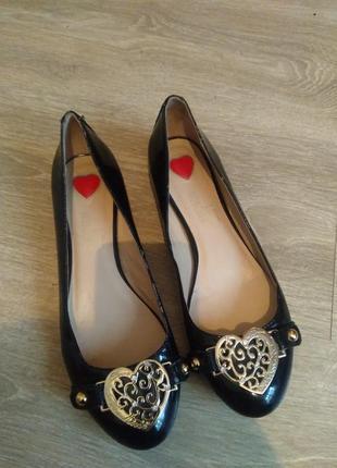 Балетки туфли love moschino оригинал