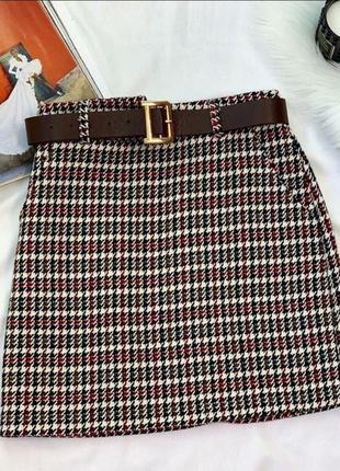 Твидовая юбка