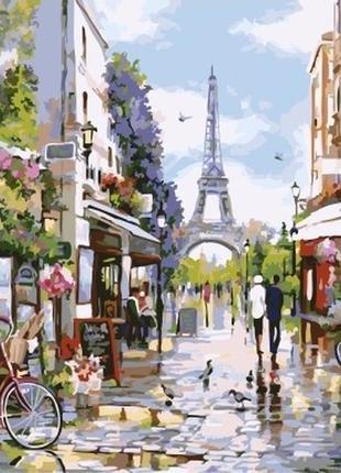Картина по номерам цветущий париж 32748