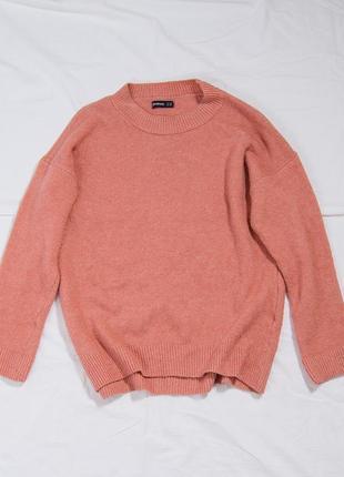 Женский свитер теплый, оверсайз свитер однотонный, зимний свитер, жіночий светр