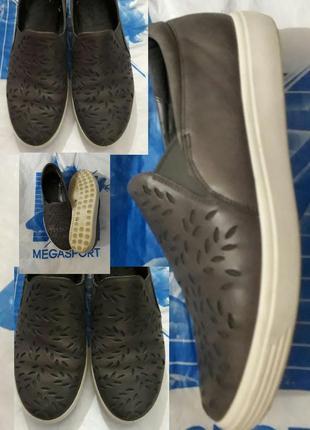 40-41 кожаные туфли бренд