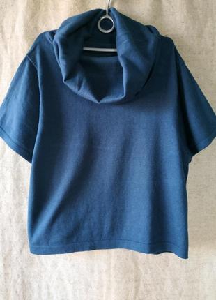 Свитер пуловер джемпер кофта с воротником гольф opus