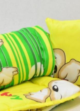 Детский набор одеяло+подушка