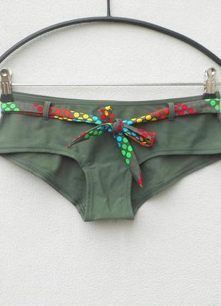 Женские плавки шорты раздельный купальник