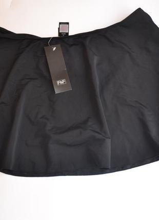 Новые черные плавки, низ от купальника с юбочкой f&f размер 16
