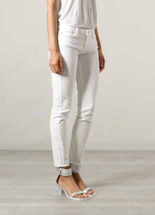 Iro paris молочные джинсы скинни оригинал