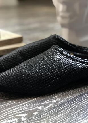 Кожаные мюли италия оригинал размер 39 сабо