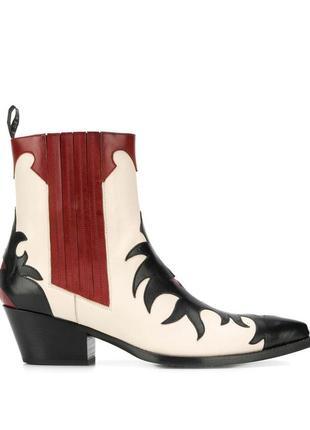 Ботильоны кожаные sartore murano ankle boots