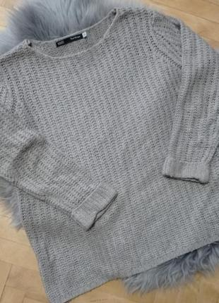 Свитер, теплый свитер оверсайз, недорого зимний свитер