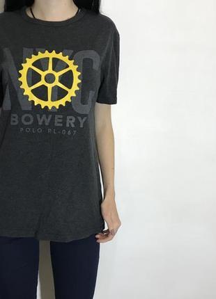Женская футболка ralph lauren ( ральф лорен с-мрр идеал оригинал разноцветная)