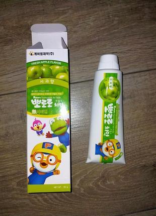 Детская зубная паста pororo