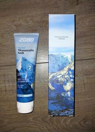 Зубная паста 2080 pure crystal mountain salt toothpaste