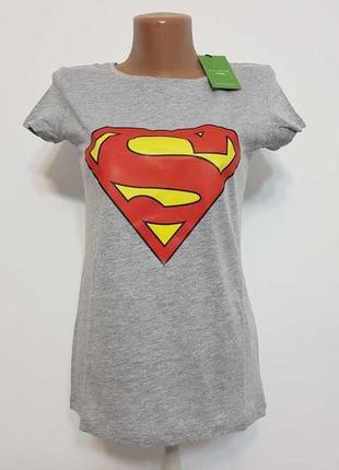 Футболка superman, подарочная, xs. новая!! 007