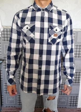 Теплая рубашка, рубаха байковая  zara, topman, h&m
