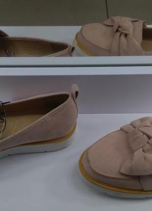 Туфли (лоферы) женские