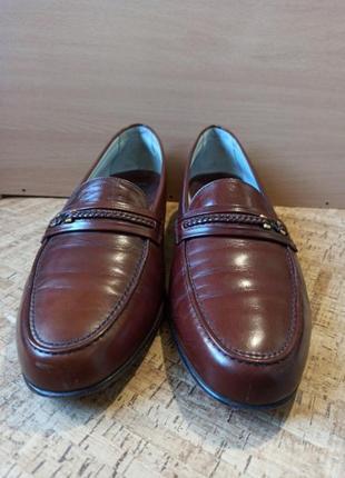 Туфли, лоферы мужские  испания, 45 р-р, кожа