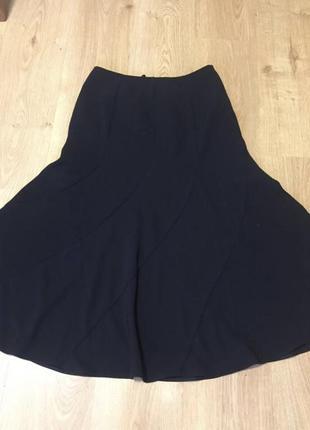 Класична чорна спідниця юбка р 40 l