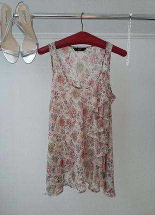 🌸🍃🌸 красивая шифоновая блуза в пастельных тонах🍃🌸🍃