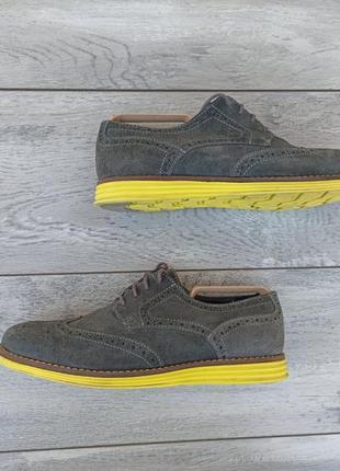 Ask мужские замшевые туфли броги оригинал