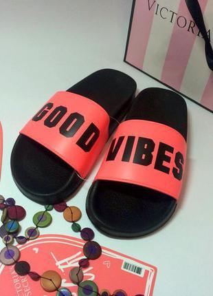 Летние пляжные шлепки pink оригинал