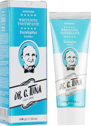 Відбілююча зубна паста з евкаліптом dr. c.tuna farmasi
