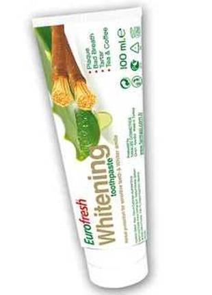 Зубна паста eurofresh whitening  112 гр.