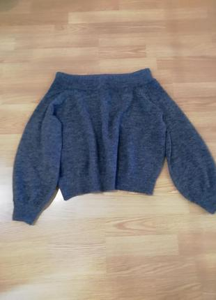 Шикарный тёплый свитер, h&m