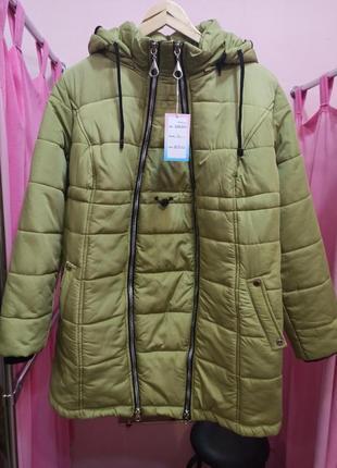Зимняя теплая куртка трансформер 2 в 1 для беременных